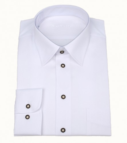 Košile společenská bílá DR