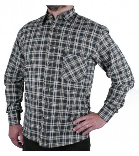 Myslivecká košile KASAI Slim letní DR