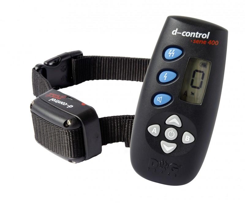 Výcvikový obojek d-control 400
