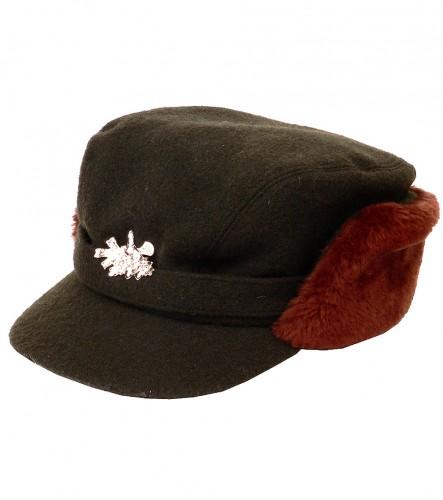 Čepice s umělou kožešinou - Loden