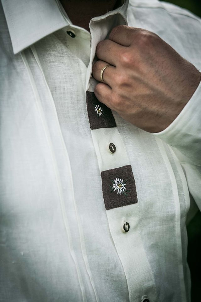 Pánská košile s dl. rukávem model 132221
