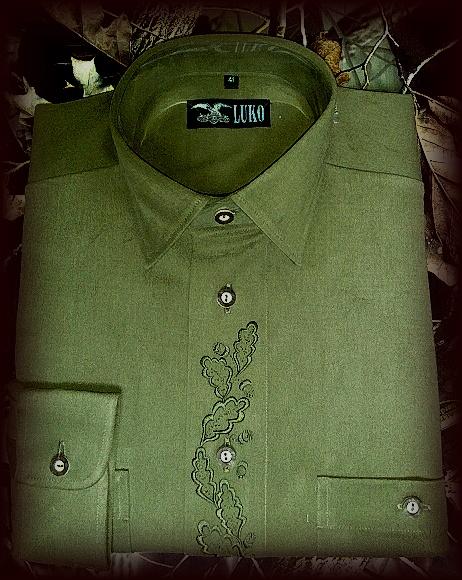 Pánská košile s výšivkou model 082227
