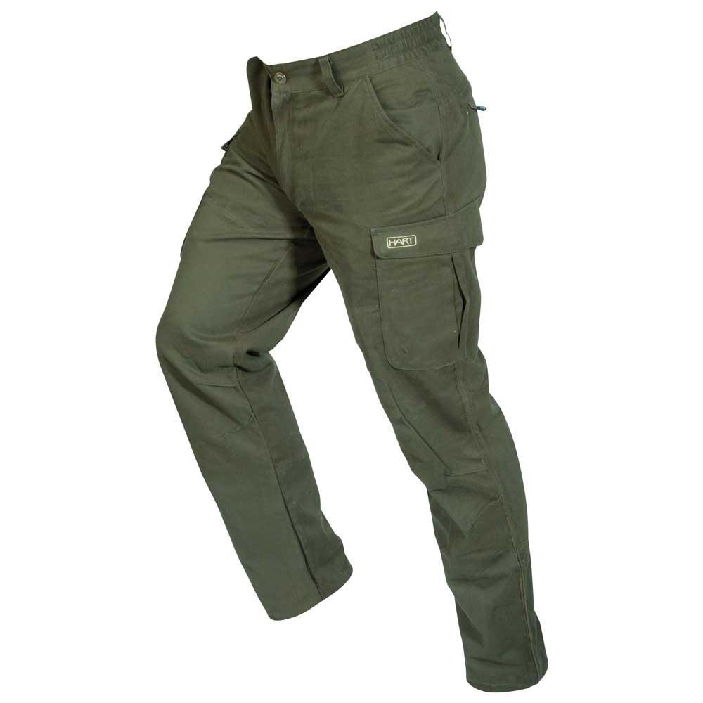 Kalhoty IBERO green