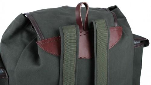 Myslivecký ruksak plátno střední 3 kapsy