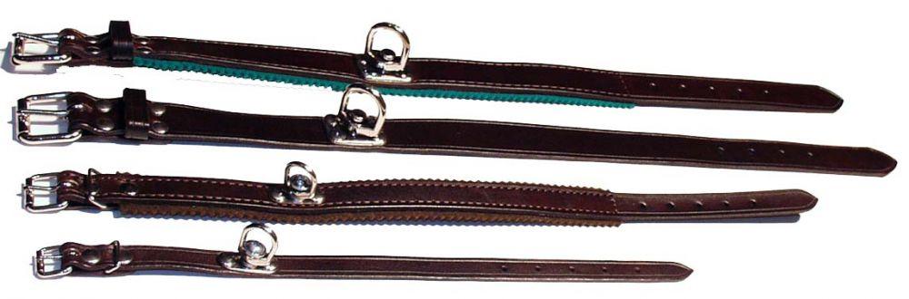 Barvářský obojek podšitý filcem 35cm