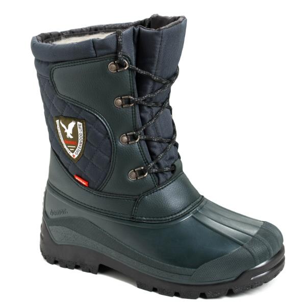 DEMAR - Lovecké zimní boty LOGAN 3815 zelené