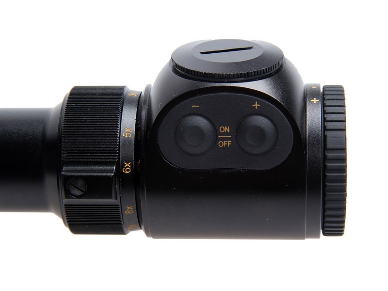 3-12x50 FOREMAN HTC PRO IR-ES, (DX), puškohled