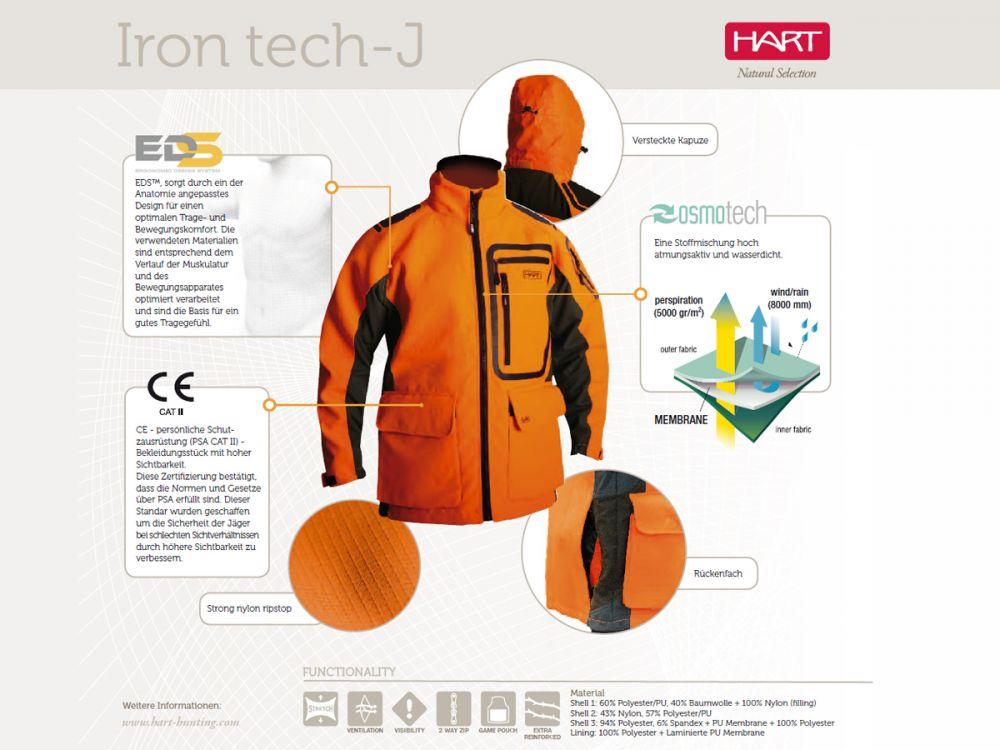 Bunda HART Iron Tech-J