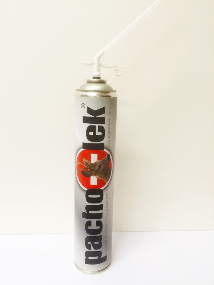 Trubičková polyuretanová pěna s otevřenými póry 750 ml - nosič pachového ohradníku
