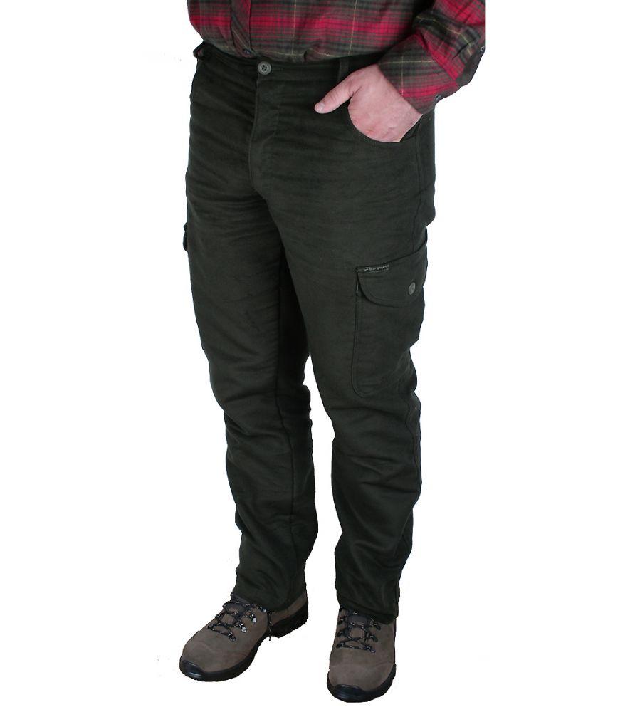 Lovecké kalhoty Moleskin Slim