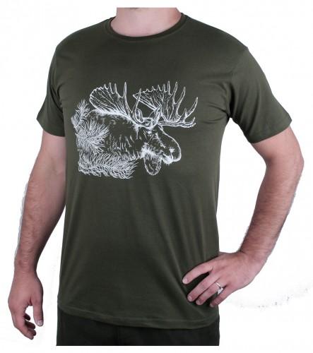 Zelené myslivecké tričko AFARS los
