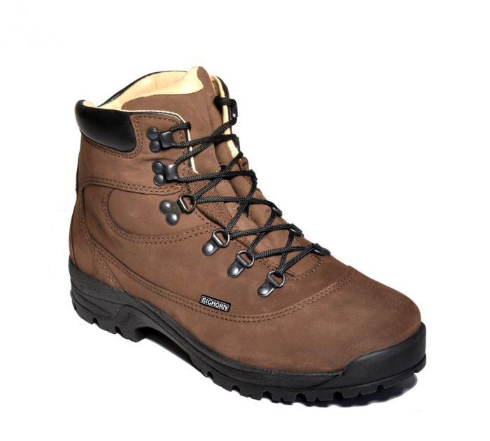 BIGHORN - Pánská treková obuv ALASKA 0810 hnědá