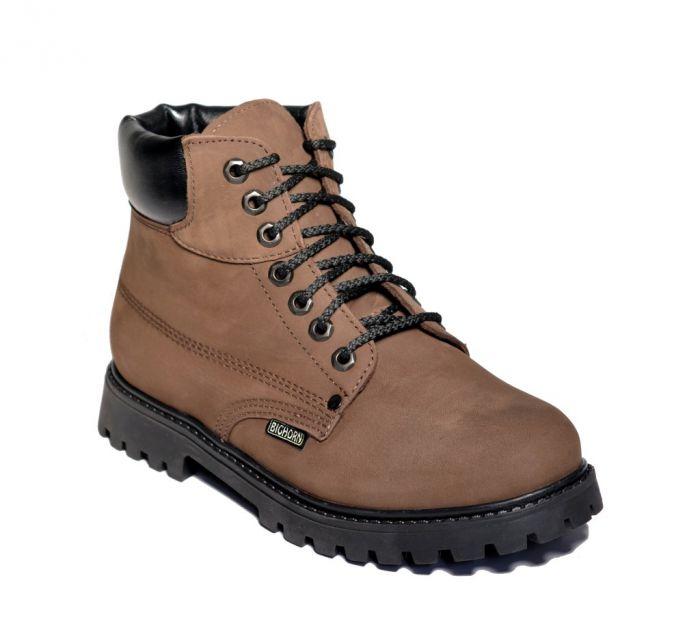 BIGHORN - Pánská vycházková obuv YOKON 0510 hnědá