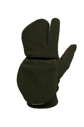 Rukavice tříprsté fleece - levý pár