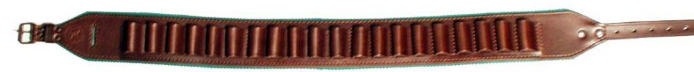 Nábojový pás PRODLOUŽENÝ 140cm otevřený z hověziny - hlazenice
