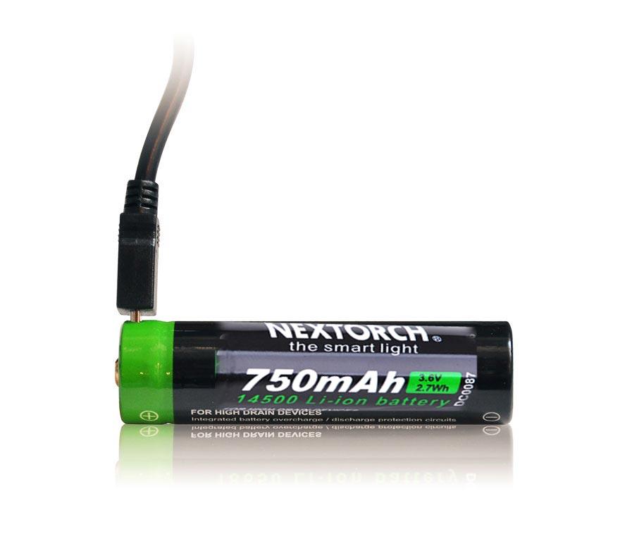 Taktická svítilna NexTorch TA15 výkon 600 lumenů