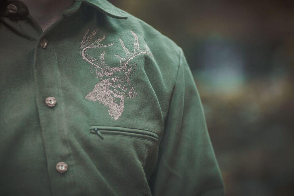 Pánská dyftýnová košile model 102224