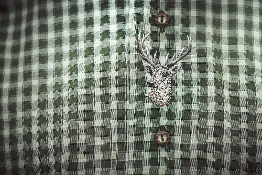 Pánská košile s krátkým rukávem ze 100% bavlny model 124118