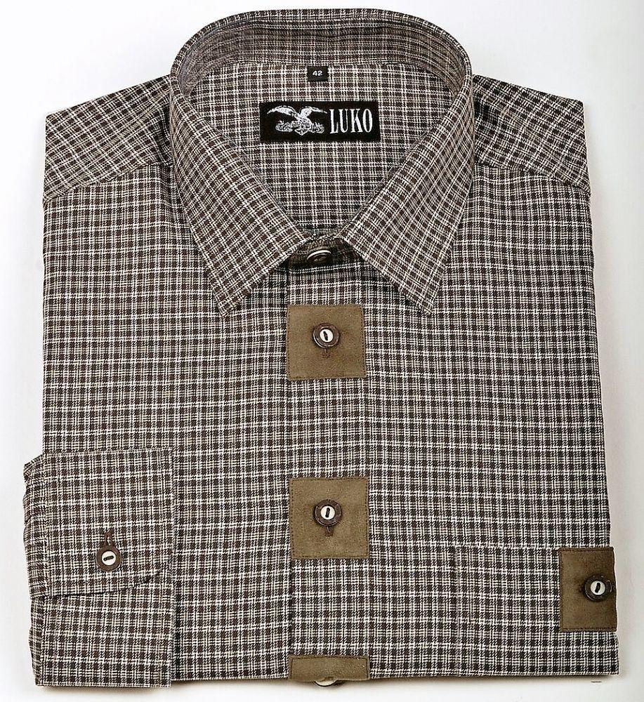 pánská košile s dl. rukávem model 032230
