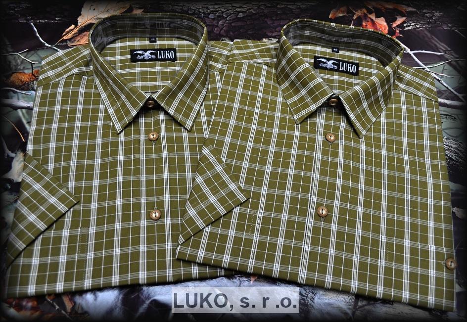 Pánská košile s krátkým rukávem model 134117