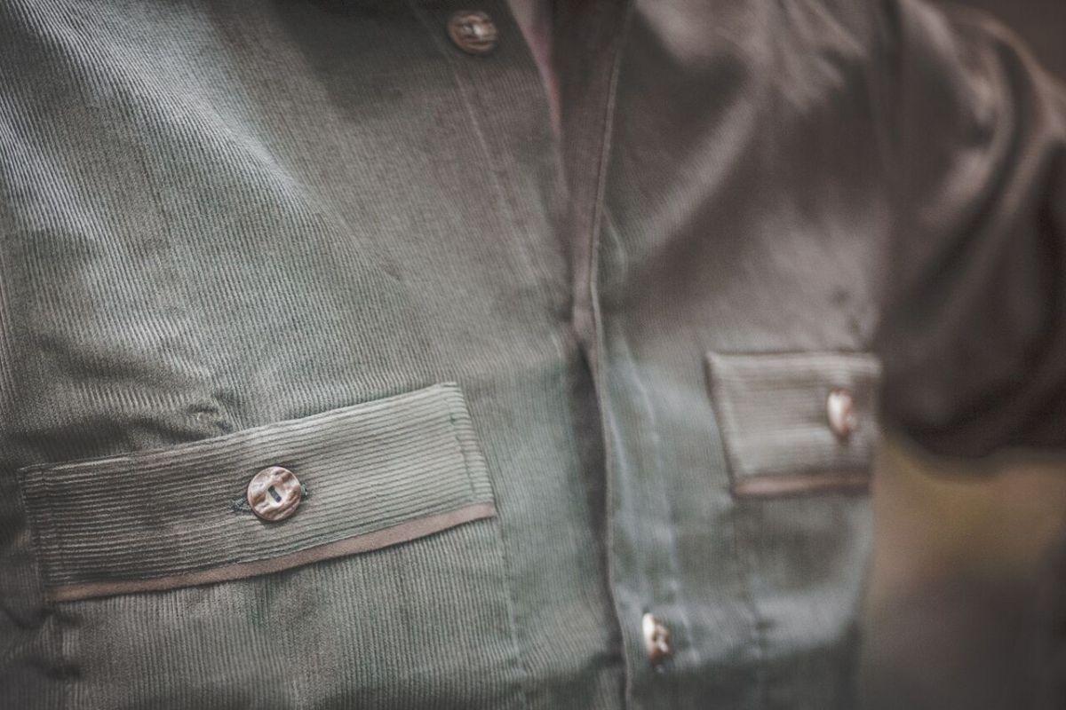 Manšestrová košile model 042162