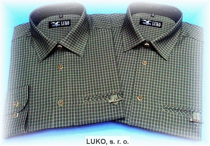 Pánská košile ze 100% bavlny model 102131