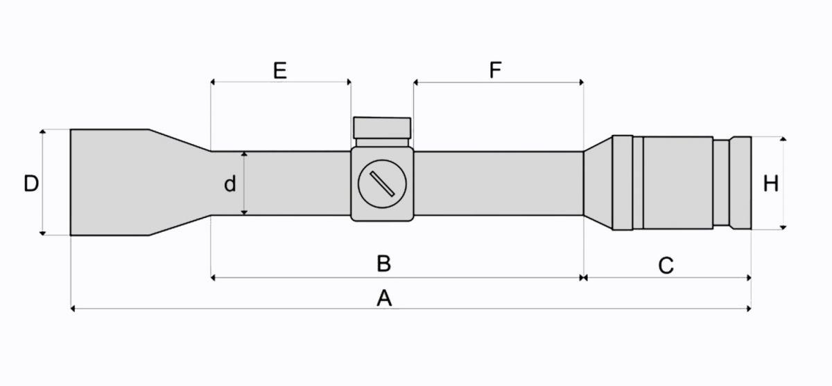 FOMEI 4x32 BEATER I SMC TAC G4 (50m) puškohled