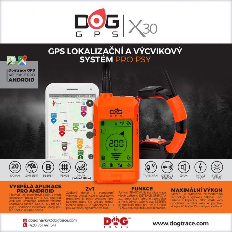 Obojek pro dalšího psa DOG GPS X30T