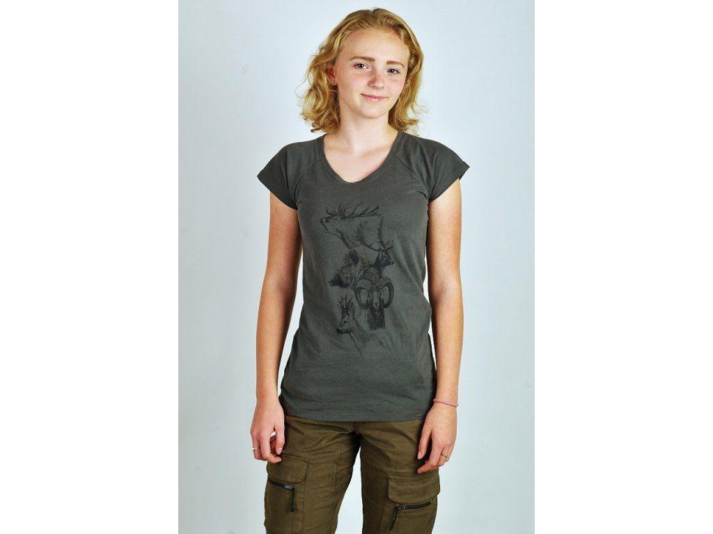 Dámské tričko C.I.T. s potiskem