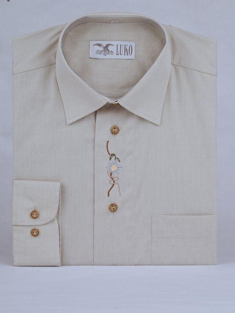 Košile s výšivkou model 102101