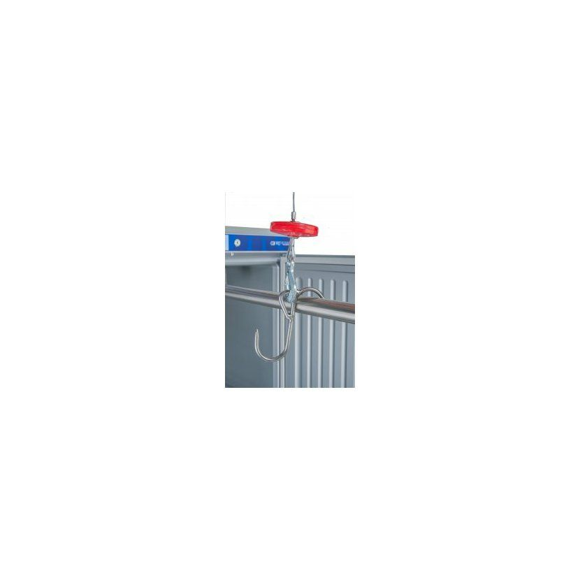 Landig S-háček z nerezové oceli s očkem - nosnost 100 kg