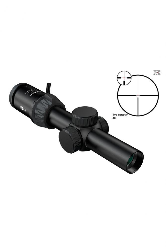 Puškohled Optika6 1-6x24 RD SFP