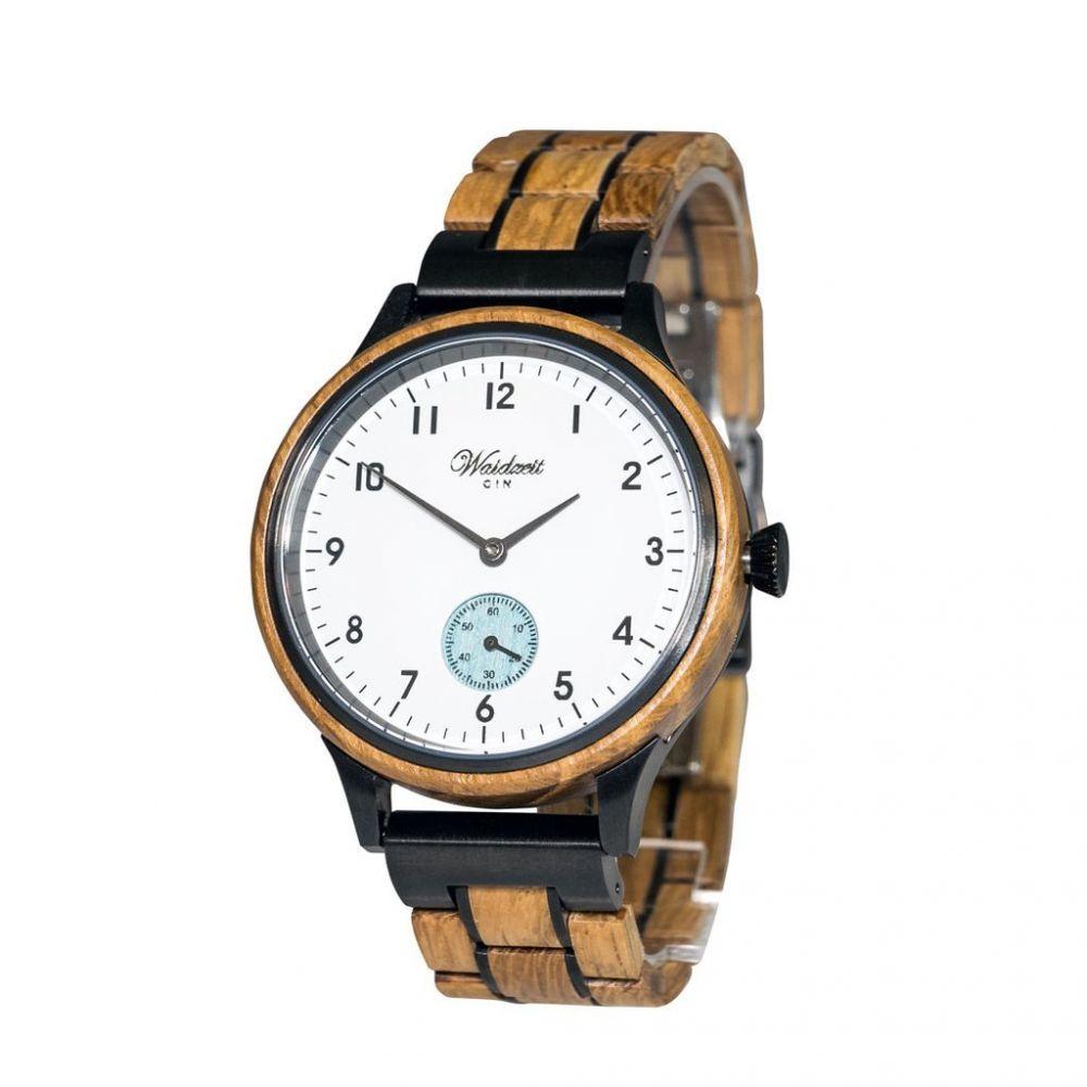 Dámské dřevěné hodinky Gin White Ice
