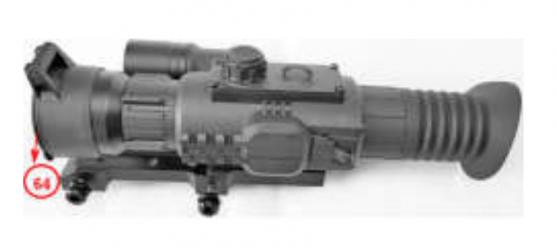Krytka objektivu Sightline N455 Yukon