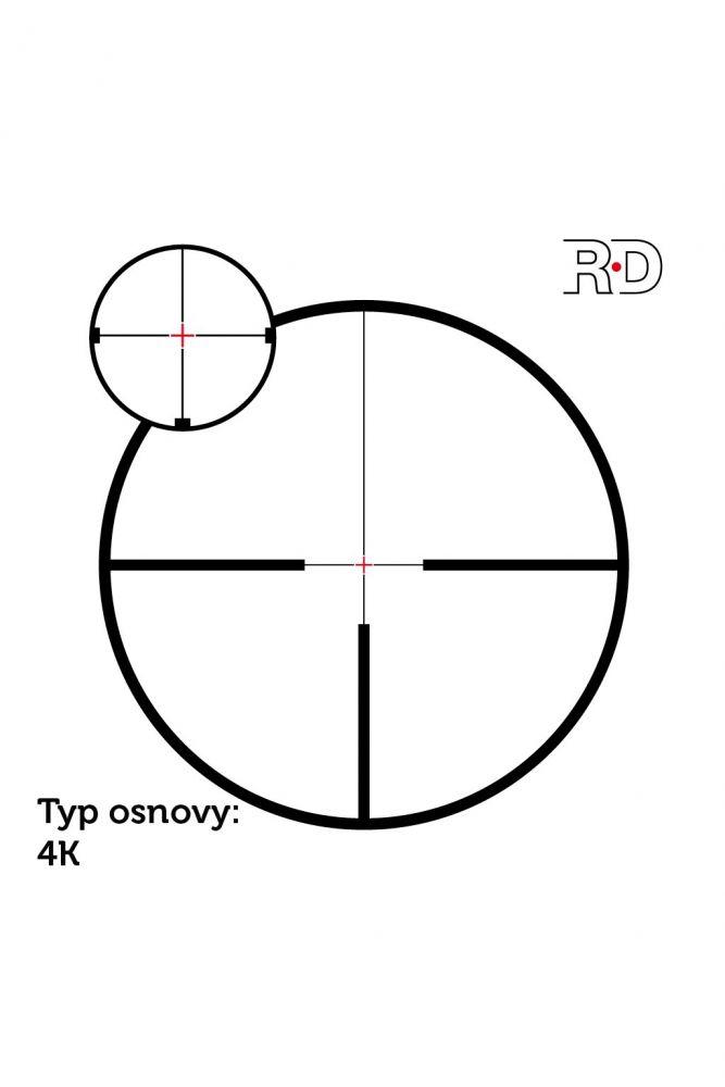 Puškohled Meopta MeoStar R1r 3-12x56 RD/MR