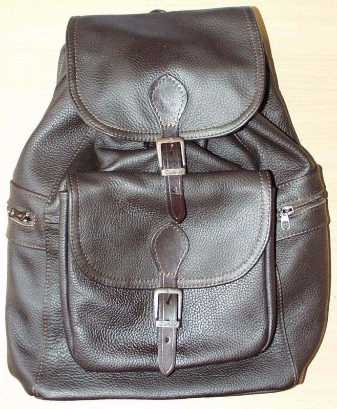 Kožený batoh malý