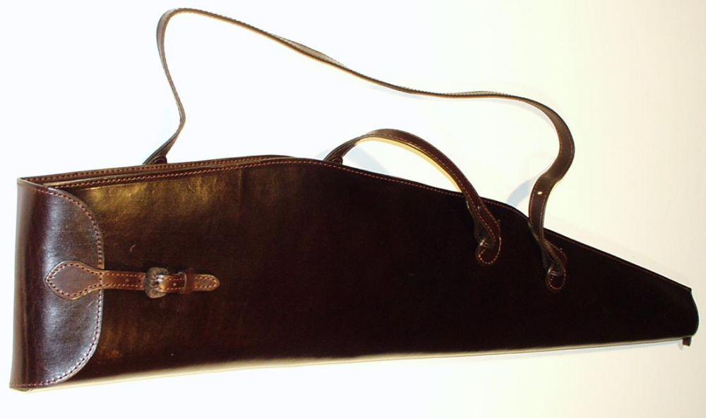 Luxusní kožené pouzdro na dlouhou zbraň