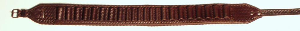 Nábojový pás zdobený otevřený z hověziny - hlazenice