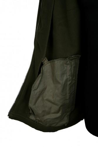 Lovecká bunda afars Fleece, dlouhý zip