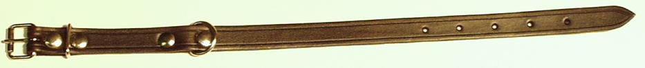 Obojek nepodšitý, 35 cm