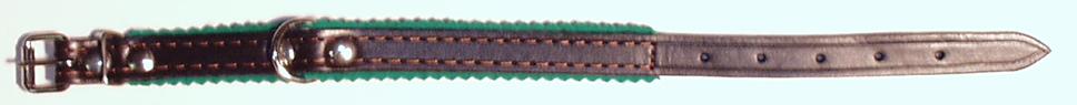 Obojek podšitý, 40 cm
