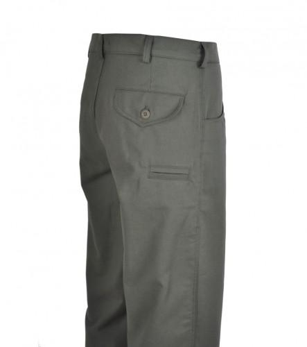 Kalhoty Twill bez bočních kapes