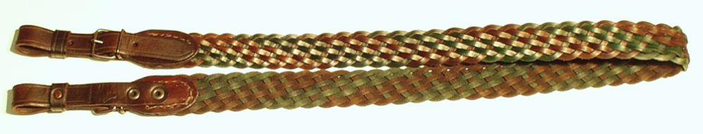 řemen na zbraň pletený, 3 cm