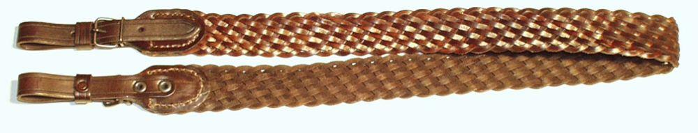 řemen na zbraň pletený, 4 cm