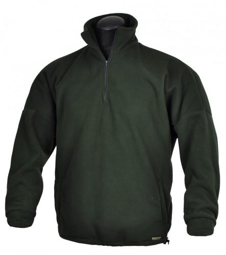 Bunda Fleece, krátký zip