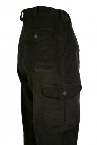 Lovecké kalhoty Moleskin
