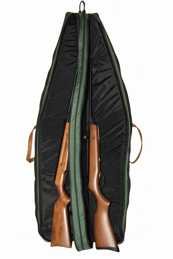 Dvojpouzdro s koženkou na 2 zbraně