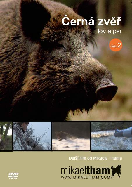 DVD Černá zvěř, lov a psi – část 2