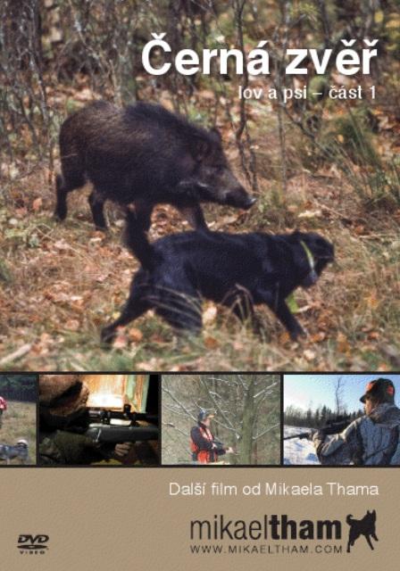 DVD Černá zvěř, lov a psi – část 1