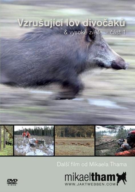 DVD Vzrušující lov divočáků & Vysoké zvěře - část 1